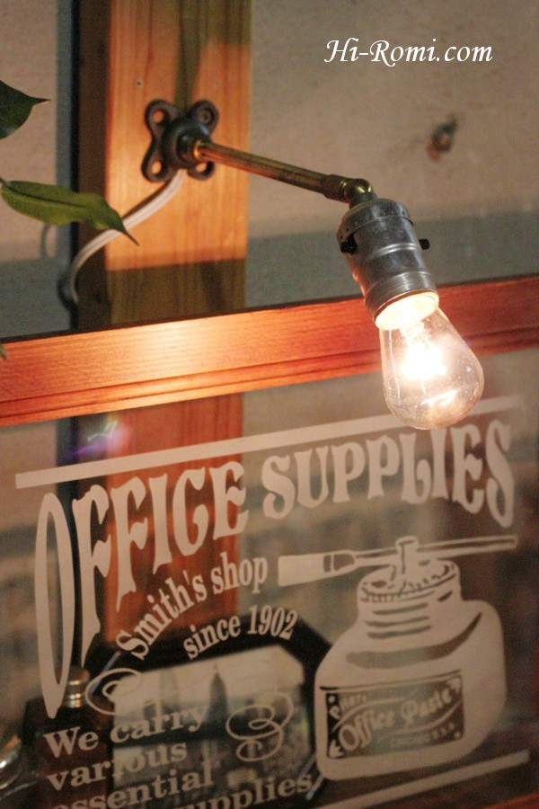 ヴィンテージプッシュ式アルミソケット工業系ウォールランプ/アンティーク壁掛けライト