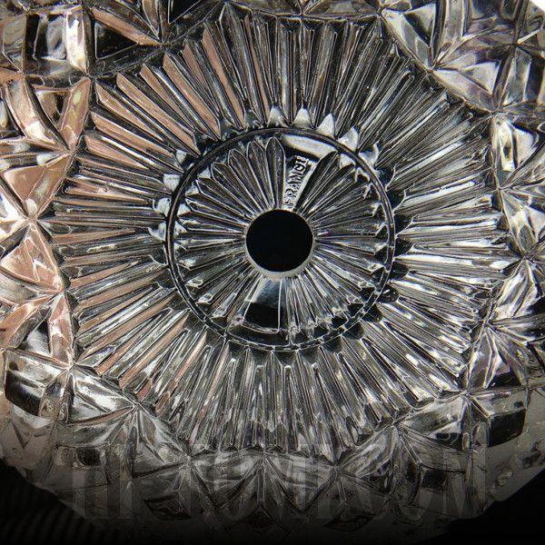 FRANCE製プレスガラスシェード1灯ミニペンダントランプ大/アンティーク吊下照明
