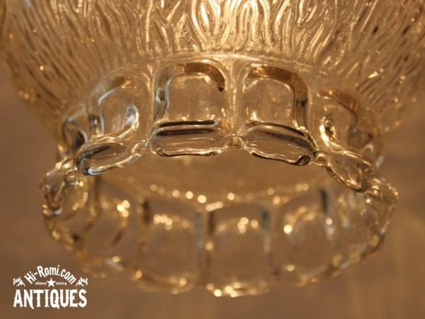 USAヴィンテージクリアガラススワッグランプ/アンティークライト
